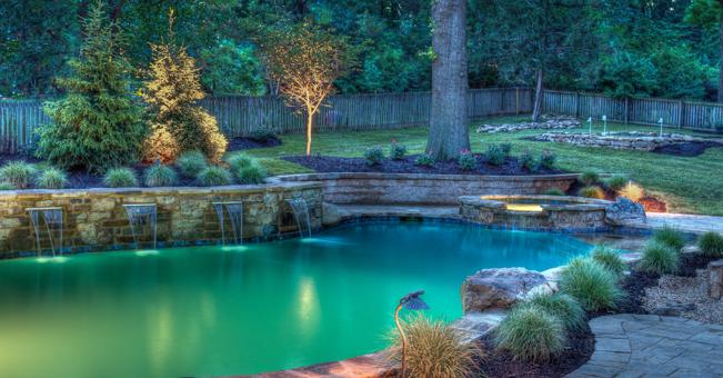 Backyard by design kansas city luxury yard and pool design for Pool design kansas city