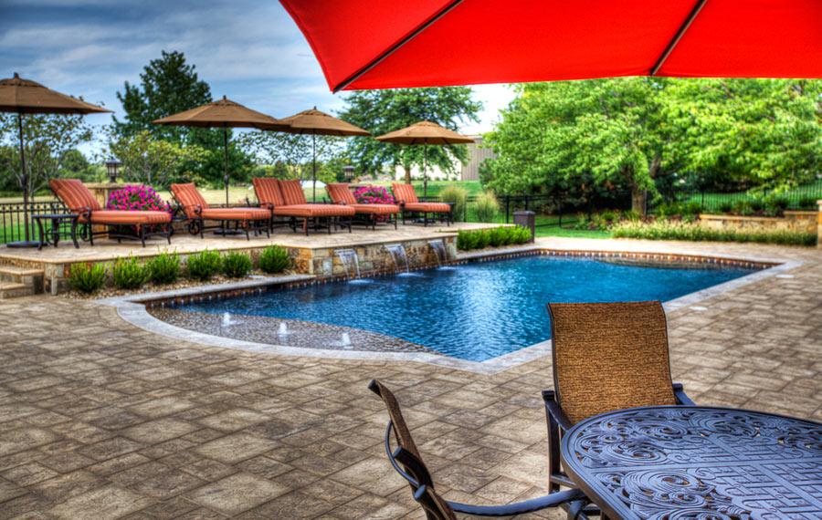 A dream come true backyard by design for Pool design kansas city