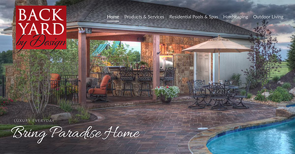 Backyard By Design Kansas City Luxury Yard And Pool Design