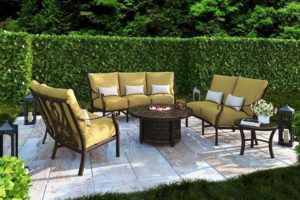 Castelle Luxury Outdoor Furniture sold by Backyard by Design KC