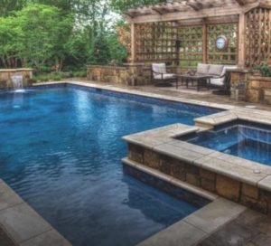 A beautiful pool and pergola from backyard by design