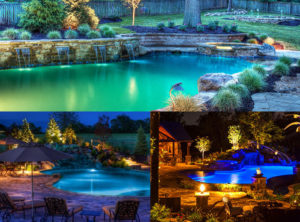 Lightscape and Outdoor Lighting Design by Backyard by Design KC