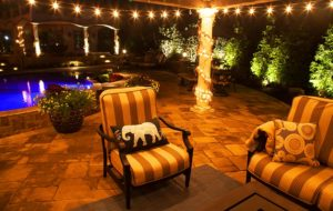 Outdoor lighting design by Backyard by Design Kansas City
