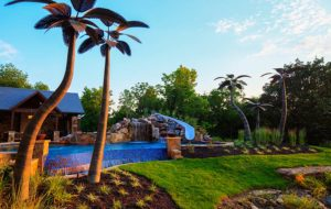 Tropical Charm in Blue Springs Missouri MO designed by Backyard by Design