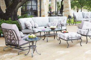 Woodard Luxury Outdoor Furniture sold by Backyard by Design KC