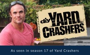 As seen in season 17 of yard crashers